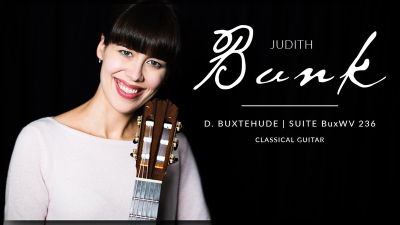 Dietrich Buxtehude, Suite in E minor BuxWV 236 by Judith Bunk on a Stephan Connor Classical Guitar